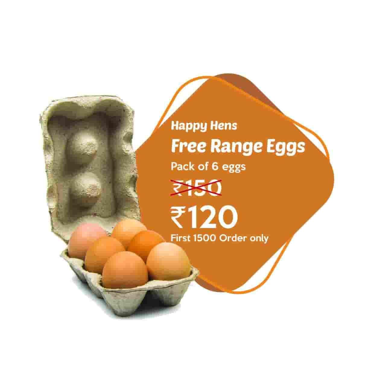 HappyHens Free Range Eggs